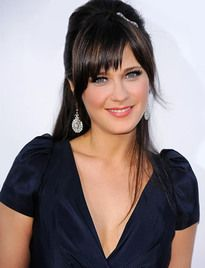 Zooey Deschanel.  Is she a True or a Bright Winter?  Mixed reviews