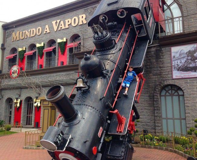 Mundo a vapor em Gramado - Rio Grande do Sul