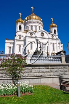 Cathedral of Christ Saviour in Moscow, Russia