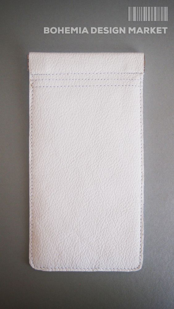 Glasses case from soft white leather #glasses #case #soft #white #leather #original #design #accessories