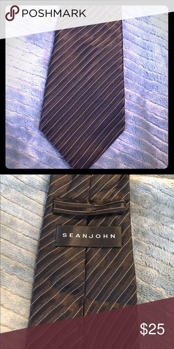 Sean jean black tie Black Sean John Accessories Ties