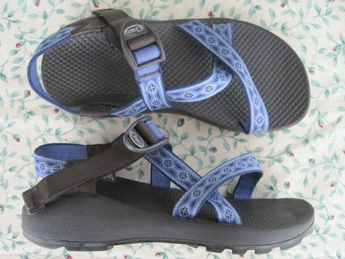 womens CHACO sport sandals blue sz 7  $25.66 + 7.95