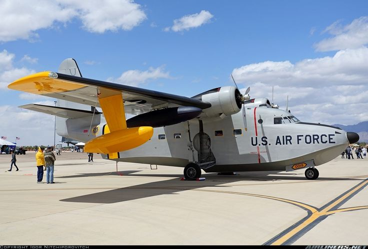 Grumman HU-16B Albatross aircraft. Worked on these very early in my career. 103 Rescue Squadron.