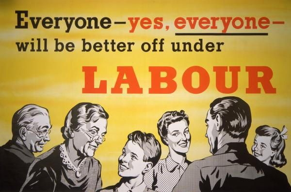 Everyone is better off under Labour. 1957.