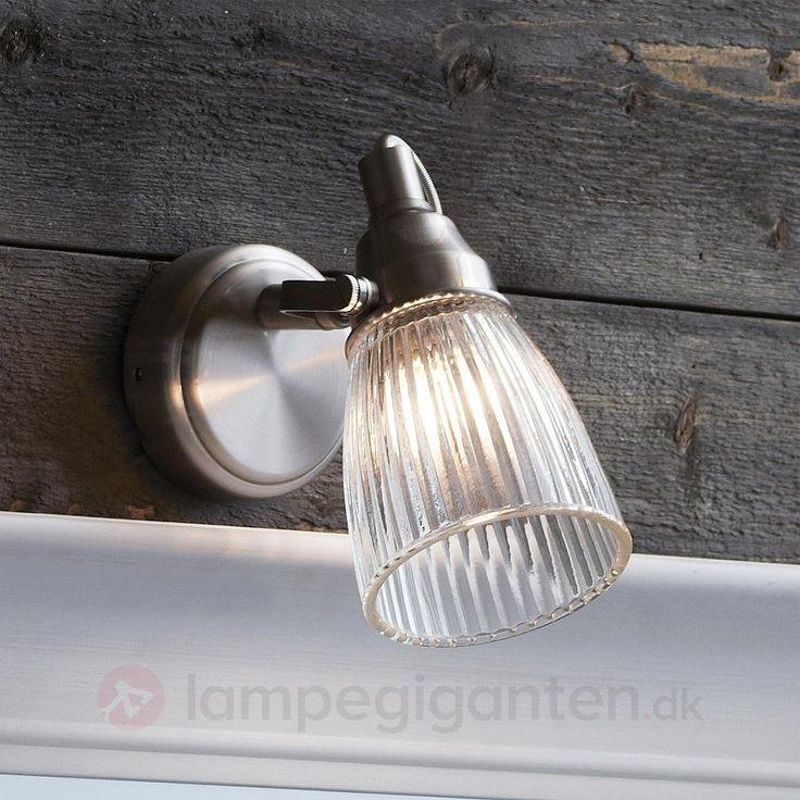 Lada – riflet væglampe til badeværelset, stål 6505543