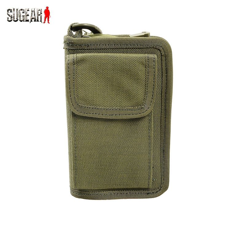 Outdoor Hunting Molle 1000D Nylon Accessory Pouch Military Camouflage Multifunctional Wallet Tactical Portable EDC Tool Pocket