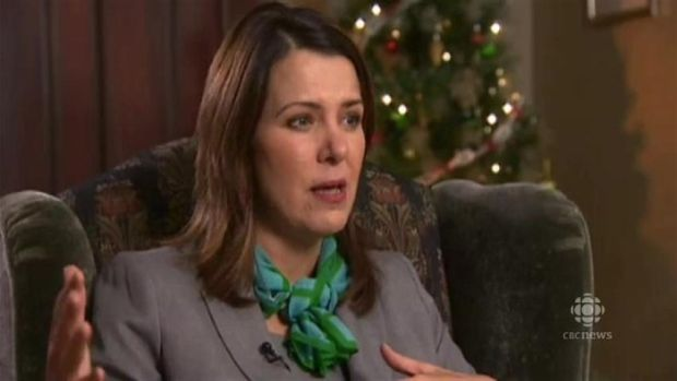Wildrose leader Danielle Smith reflects on her party's year #ableg #Alberta #wrp