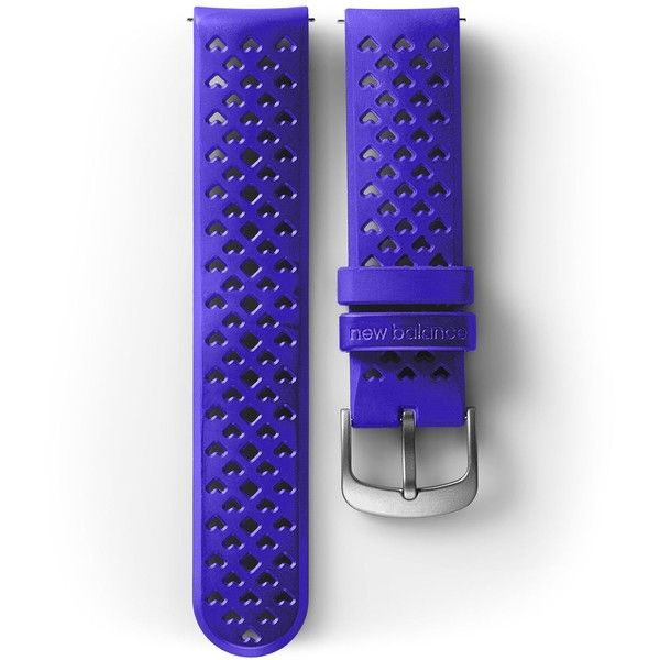 New Balance  Men's & Women's NB RunIQ Watch Band (41 NZD) ❤ liked on Polyvore featuring jewelry, watches, purple, new balance watches, new balance, purple jewelry and purple watches