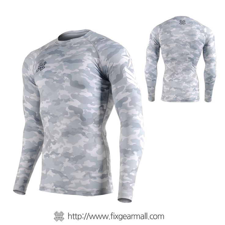 Fixgearmall - #FIXGEAR #Compression Base Layer Long Sleeve #Shirts, model no CFL-M1G, Skin Tights and Advanced Performance Fabric. ( #AeroFIX ) #Rashguard #Workout #Fitness #Crossfit #Training #MMA #Jujitsu #Yoga