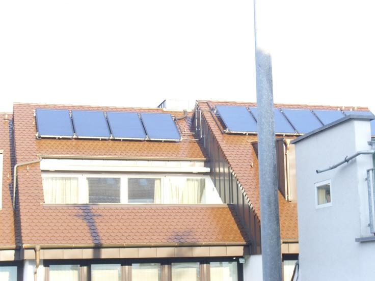 Thermische Solaranlage   Dossenheim
