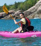 Ocean Kayak's are great for the water!  www.oceankayak.com