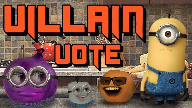 Annoying Orange : Annoying Orange - Despicable Me 2 - Choose Your Villain!