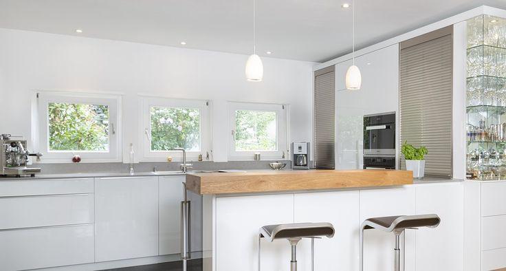 10 k che hochglanz weiss pinterest l k che hochglanz weiss k che. Black Bedroom Furniture Sets. Home Design Ideas