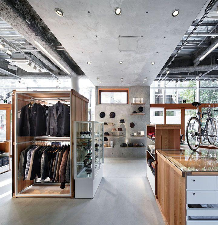 Takeo Kikuchi flagship store Schemata Architects Tokyo