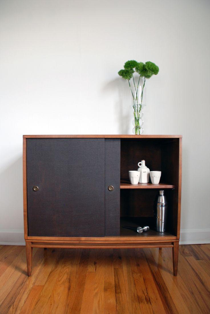 blackwellshoppe.etsy.com, Paul McCobb cabinet, bar cabinet, mid century furniture, MCM