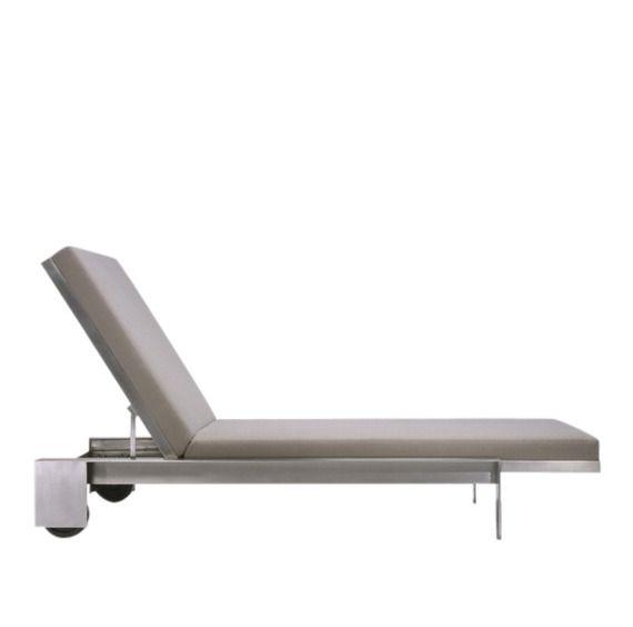 Indoor/Outdoor Chaise Lounge - Dering Hall (=)
