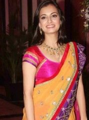 bollywood sarees high look