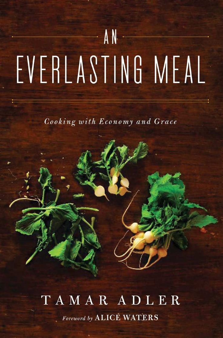 An Everlasting Meal: Cooking with Economy and Grace by Tamar Adler: 'A meal is cooked by the mind, heart and hands of the cook, not by her pots and pans.' A beautifully written narrative about cooking as a natural and joyful way of living which does not require fancy techniques, equipment or ingredients. Thanks to @Elizabeth Silbermann! #Cooking #Tamar_Adler