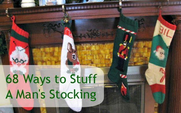68 ways to stuff a man stocking