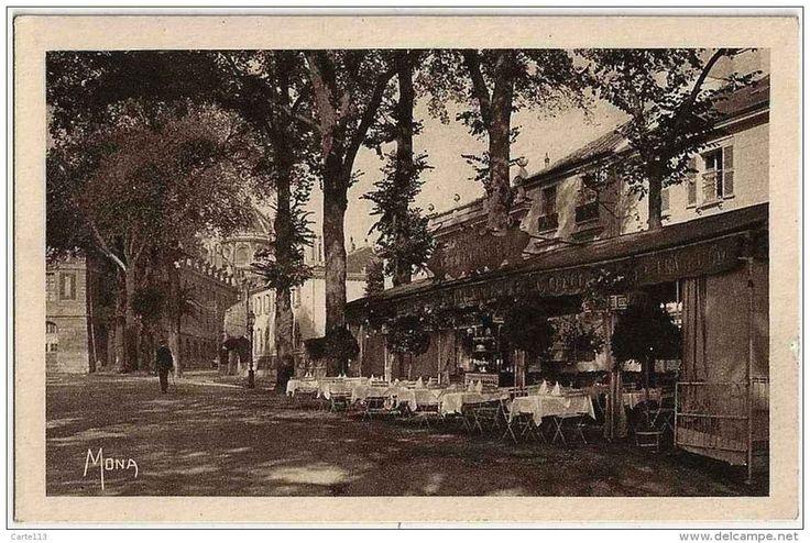 VERSAILLES - PROMO PORT GRATUIT - Cafe Restaurant De LONDRES, Rue Colbert, La Terrasse - Parfait état - YVELINES - Versailles