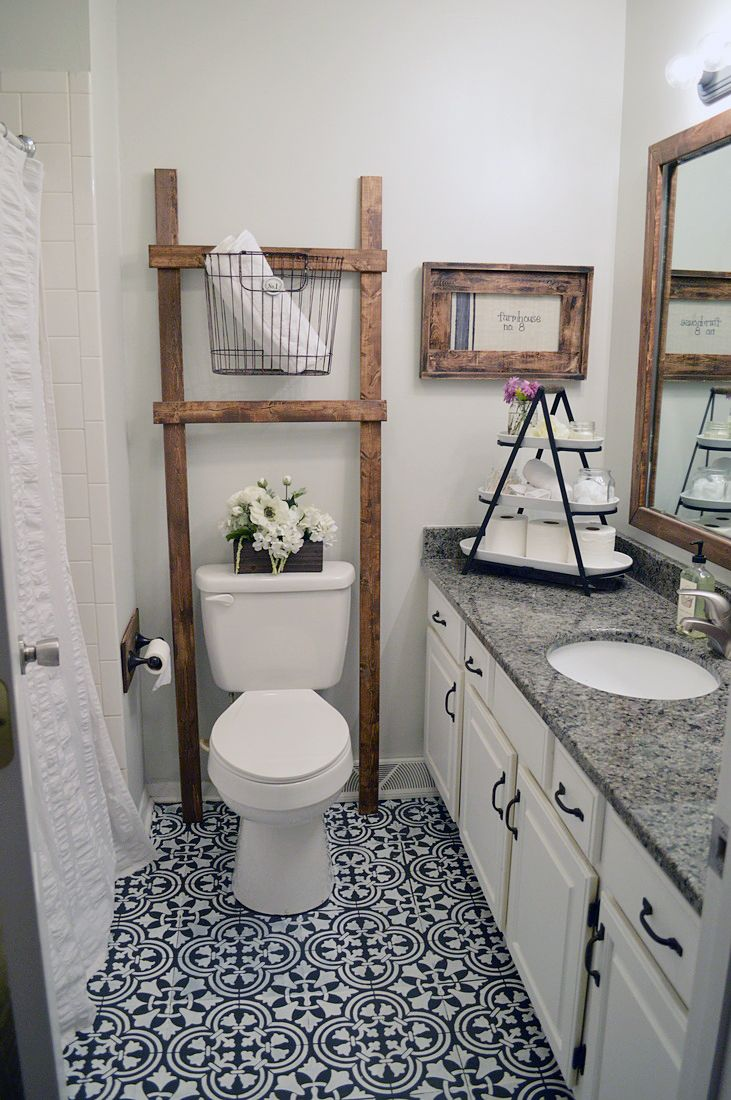 learn how to stencil a tile pattern on a bathroom linoleum floor using the augusta tle