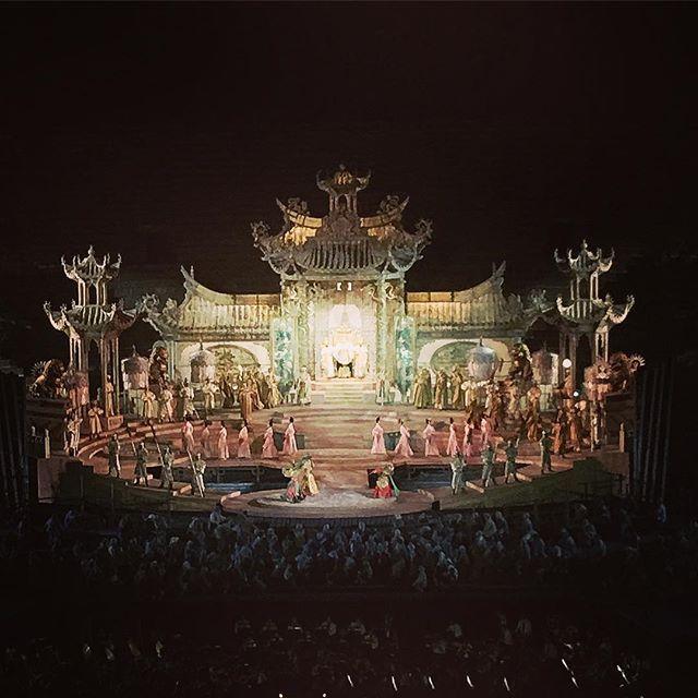 Turandot Arena di Verona #turandot #arenadiverona