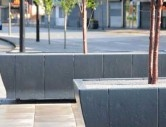 http://www.hartecast.co.uk/liverpool/ - Close up of the planter boxes fitted in Liverpool's Allerton Road. Our planters offer the perfect landscaping tool for improving the visual appeal of any city.