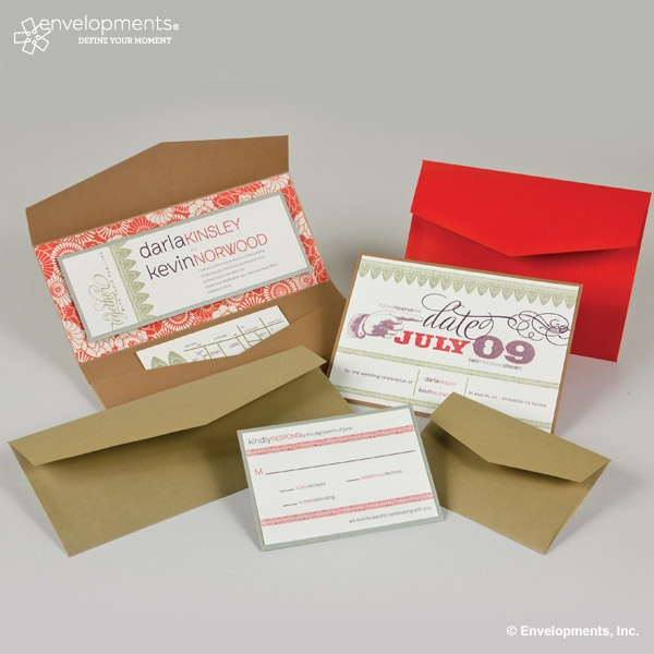 "Whismsical pocketfold invitations. ""The Pleasure of Your Company"" is a local stationery store, http://thepoyc.com"