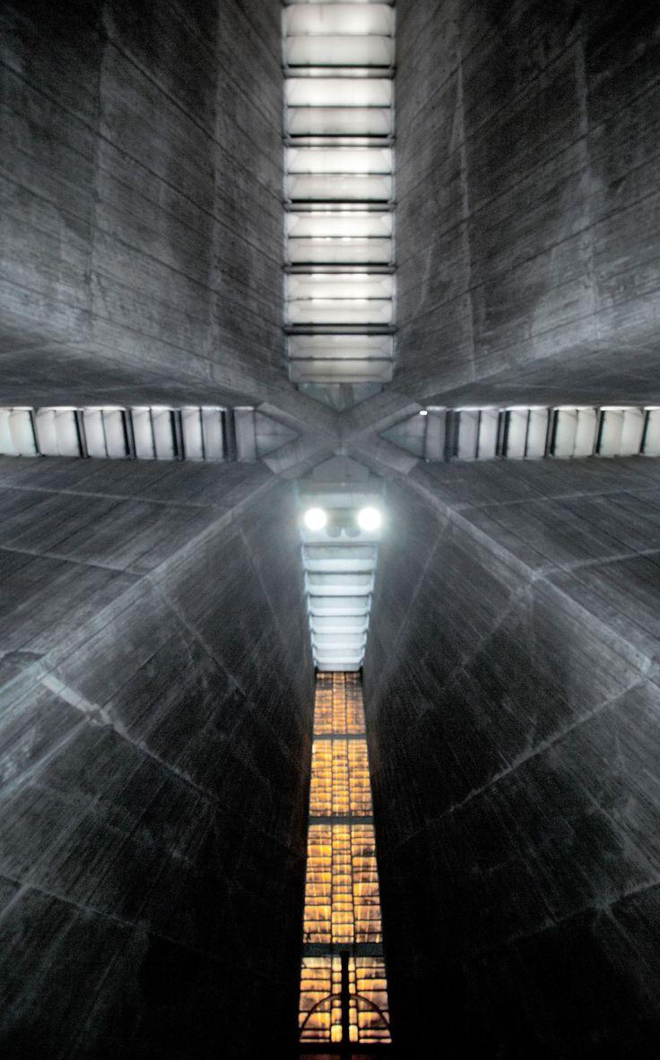Xia Zhi, Kenzo Tange · Tokyo St.Mary's Cathedral. Sekiguchi, Bunkyo-ku, Tokyo, Japan · Divisare
