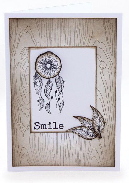 MT570 Smile Dream Catcher Card