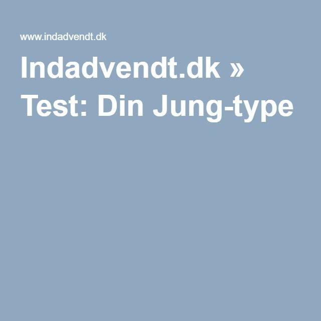 Indadvendt.dk » Test: Din Jung-type
