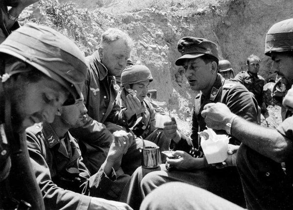 German soldiers in Crete 1941