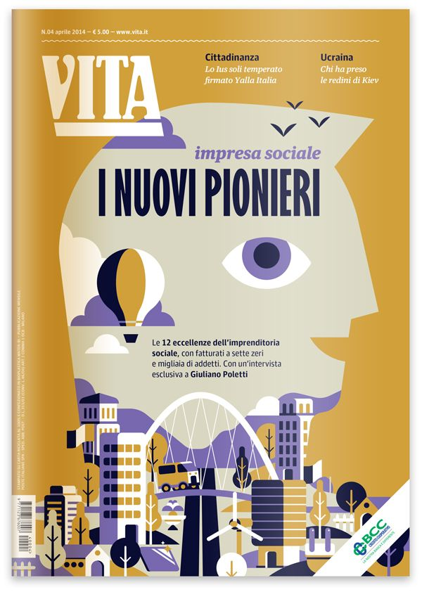 Vita Magazine | The New Pioneers by Marco Goran Romano, via Behance