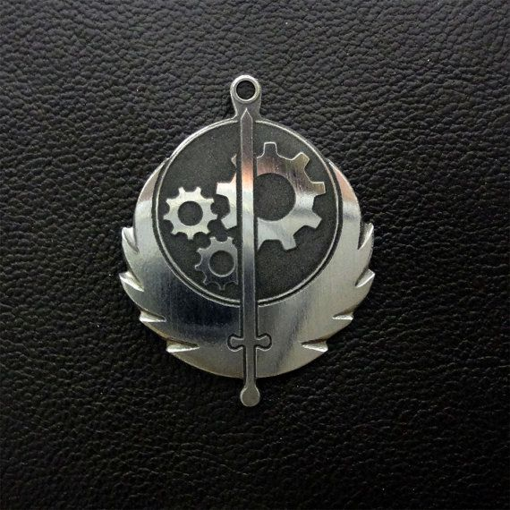 Hey, I found this really awesome Etsy listing at https://www.etsy.com/uk/listing/248706472/fallout-brotherhood-of-steel-pendant