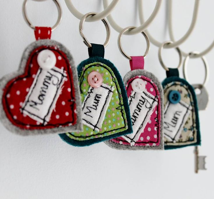 personalised heart keyring by honeypips | notonthehighstreet.com