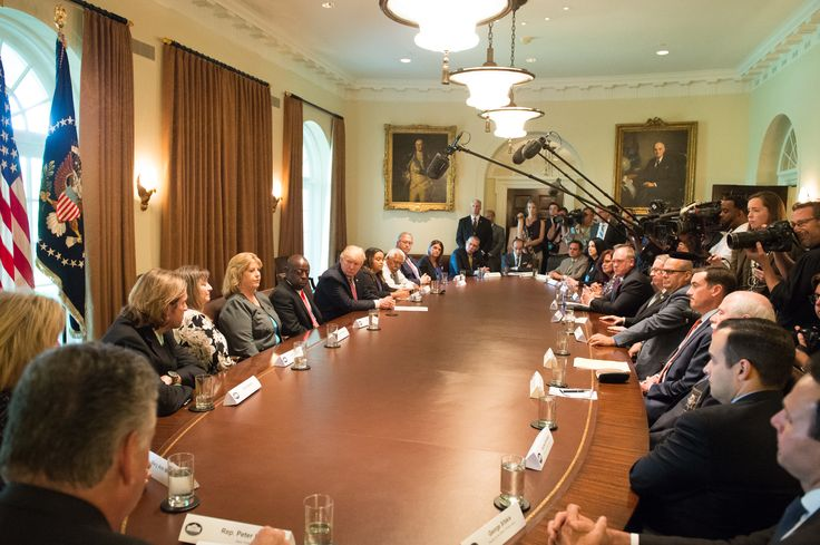 President Trump's Meeting With Immigration Crime Victims | whitehouse.gov
