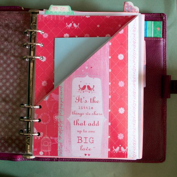 Laminated Filofax Dashboard with pocket on by JustKeepPinning, £1.75