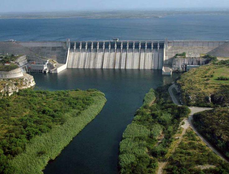 Del Rio Texas Amistad Dam Near Del Rio Texas Ciudad