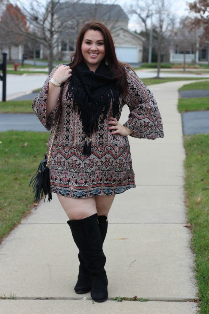 Dress outfits with boots plus size