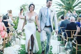 Casamento celebridades Michael Phelps e Nicole Johnson