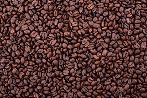 texturen, koffiebonen, structuur, textuur
