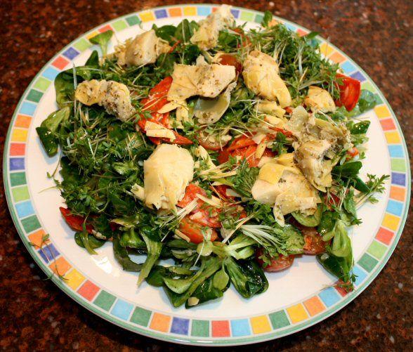 Chorizo-kaasssalade