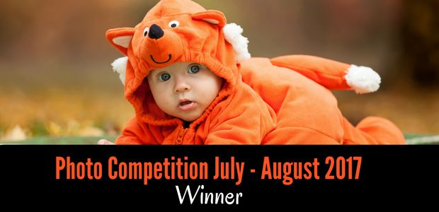 Winner Baby Photo Competition July – August 2017  And here is the WINNER of the July - August 2017 Baby Photo Competition!  #babycompetition #photocompetition #babyphotocompetition #babycontest #photocontest #winner