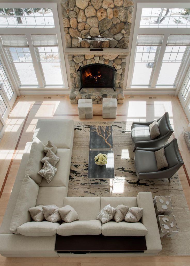 how to decorate a large living room with little furniture dark brown leather sofa ideas for an elegant and refined home family decor