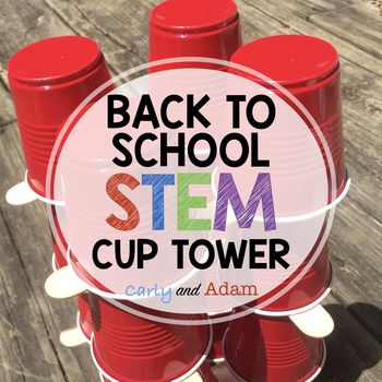 INTEGRATE STEM IN YOUR CLASSROOM! Students will learn teamwork and problem solving skills as they work together to build a tower out of popsicle sticks and cups. Students plan, design, and execute their own ideas. After they have completed their