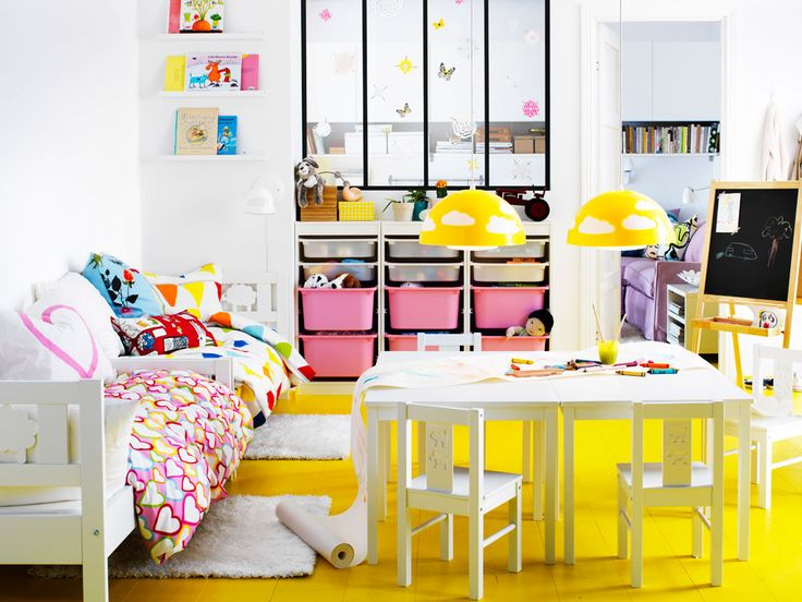 More room for imagination and sleeping and playing - Ikea mobiliario infantil ...