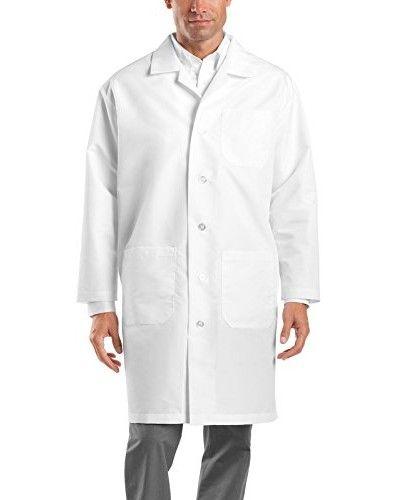 Medgear Unisex Lab Coat for Men and Women Long Sleeve White Lab Coat 3003 #nurse #doctor #hospitalstyle #medicalstyle #scrubsets #medicalscrubs #labcoats