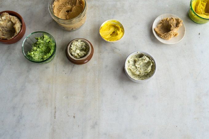 Compound Butters - Adding Things to Butter to Make it Extra Awesome from 101 Cookbooks - Compound butters are a lazy cook's secret weapon. They're a way to add intense flavor to preparations without a whole lot of extra effort. I've included a few recent favorites here.