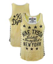 Roots of Fight Mike Tyson Kid Dynamite Striped Tank