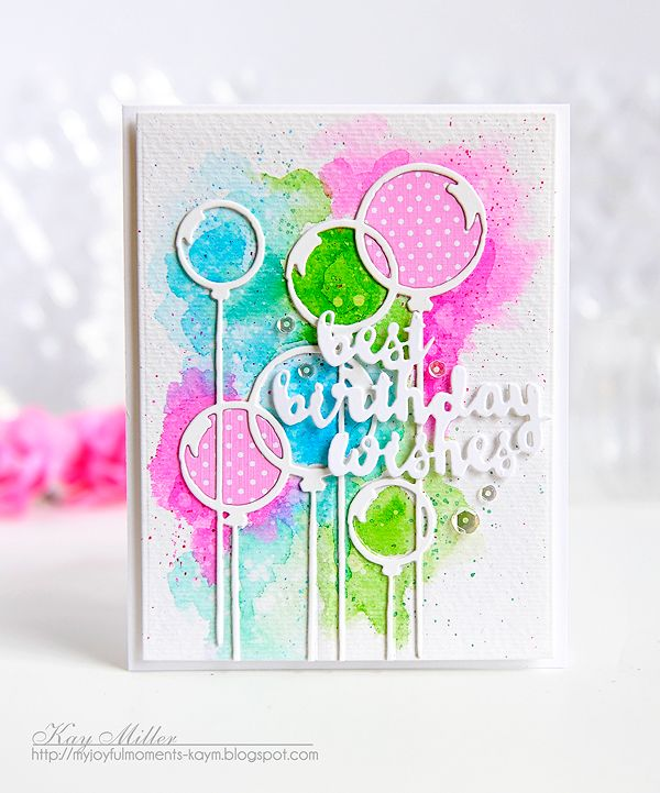 Birthday Message Kay Boyfriend: Best Birthday Wishes Card By Kay Miller For Papertrey Ink